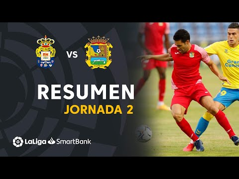 Las Palmas CF Fuenlabrada Goals And Highlights