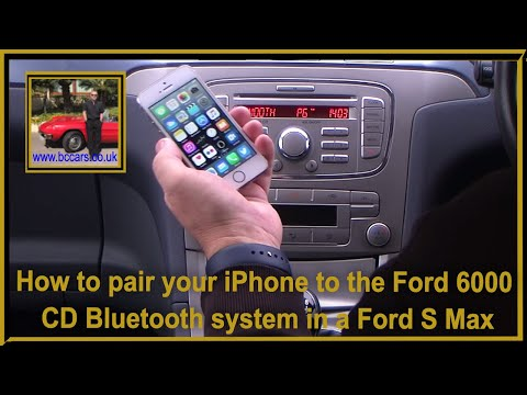 how-to-pair-your-iphone-to-the-ford-6000-cd-bluetooth-system-in-a-ford-s-max