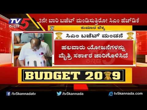 ಸಿಎಂ ಹೆಚ್ ಡಿ ಕುಮಾರಸ್ವಾಮಿ ಬಜೆಟ್ ಮಂಡನೆ | Karnataka Budget 2019 | CM HD Kumaraswamy | TV5 Kannada