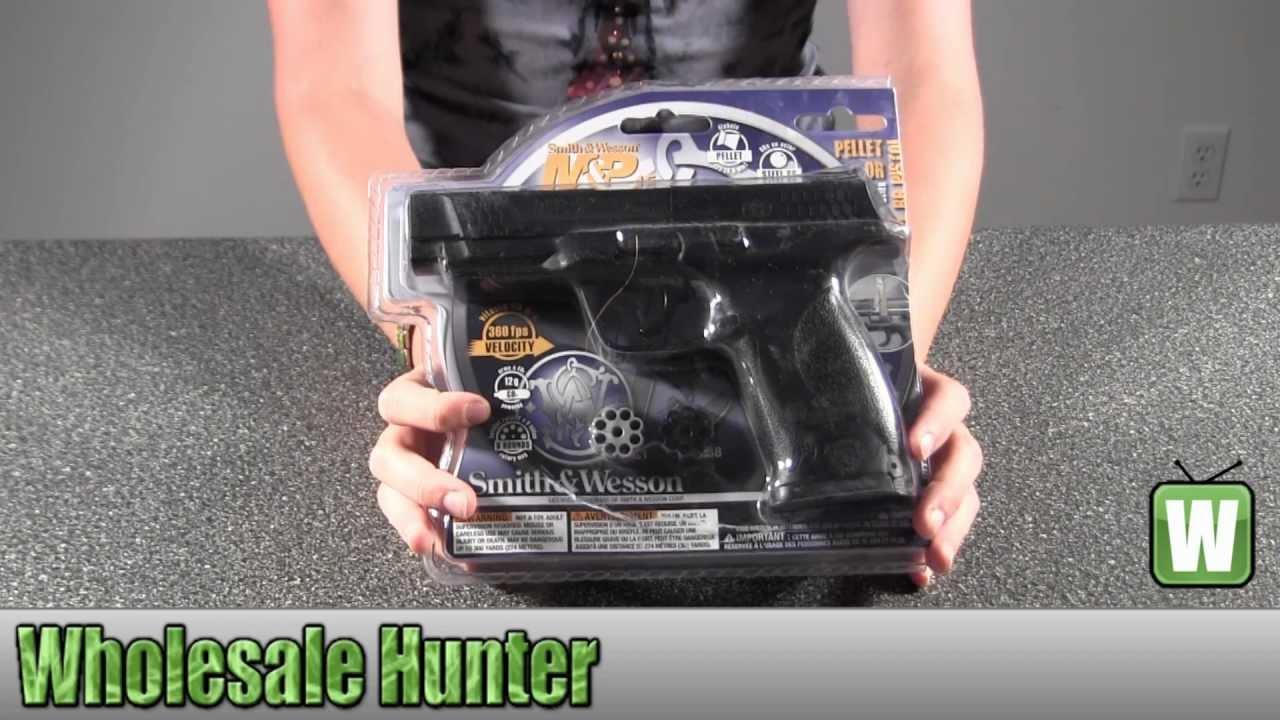 Umarex USA Smith And Wesson, M&P, 2255060 45 Black .177