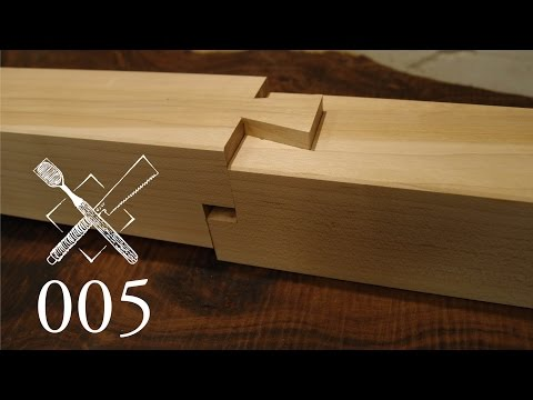 Joint Venture Ep. 5: Stepped dovetailed splice (Japanese Joinery)