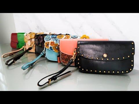 Coach 1941 Clutches | Bag Collection | Wallet Collection | Coach Tea Roses | Coach Border Rivets