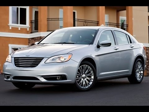 2013 Chrysler 200 Start Up and Review 3.6 L V6 - YouTube