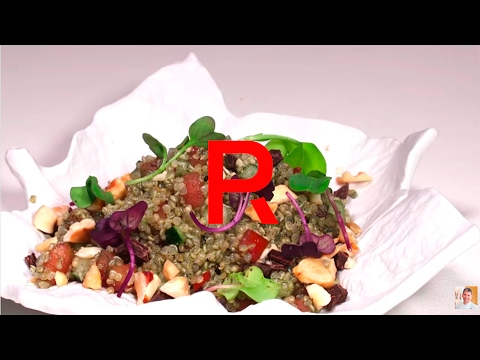 Ensalada de Quinoa con Chocolate | PACO RONCERO