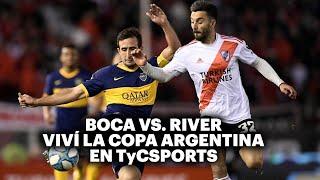 BOCA VS. RIVER ⚽️ VIVILO EN TyC SPORTS   Copa Argentina 2021