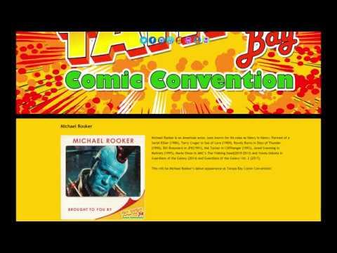 Michael Rooker Q&A at Tampa Bay Comic Con 2019