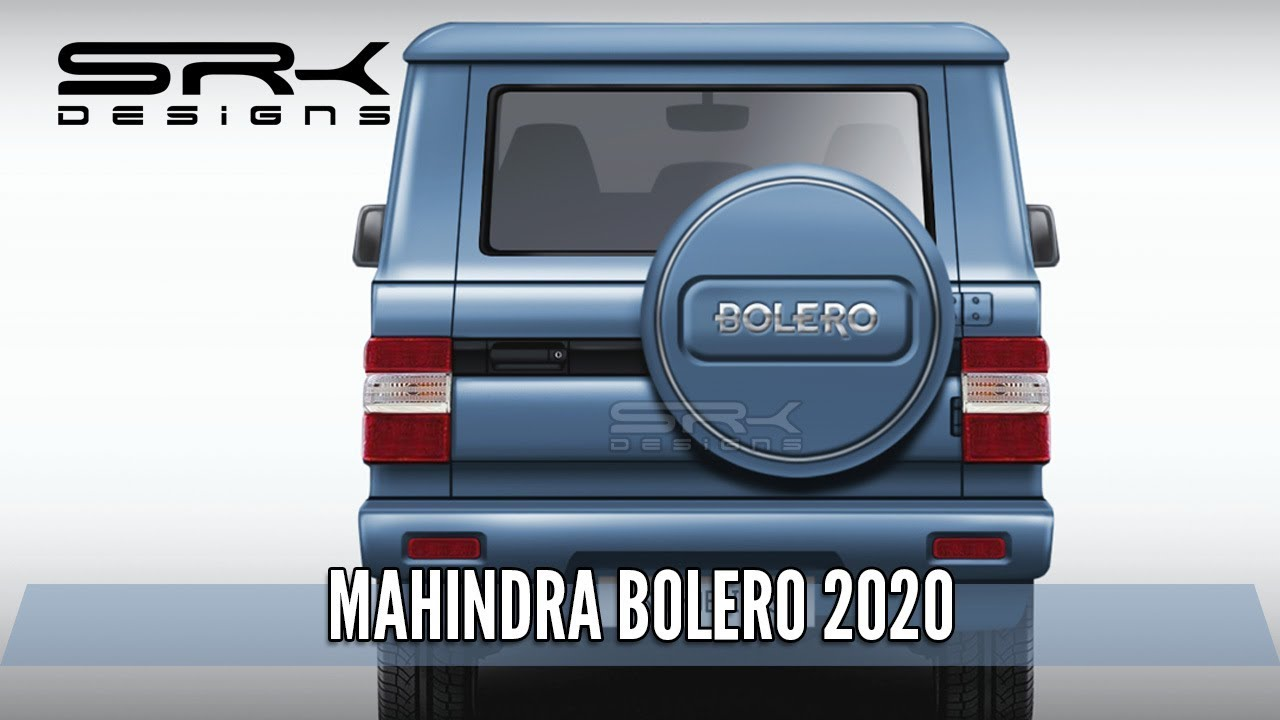 Mahindra Bolero 2020 (Rear) – Rendering – Making Video | SRK Designs