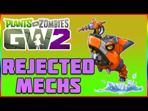 Rejected Imp Mechs - Plants Vs Zombies Garden Warfare 2