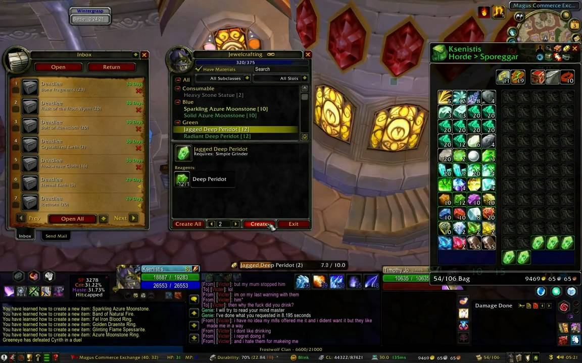 Jewelcrafting leveling guide wotlk