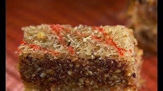 Шекинская халва-пахлава