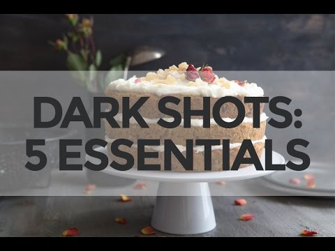 5 Essentials for Shooting Dark Food Photography
