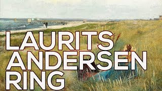 Laurits Andersen Ring: A collection of 89 paintings (HD)