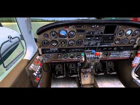 PIPER PA 34 SENECA TUTORIAL 1 HOW FLY A REAL PIPER -COMO VOLAR UN SENECA PROCEDIMIENTOS REALES