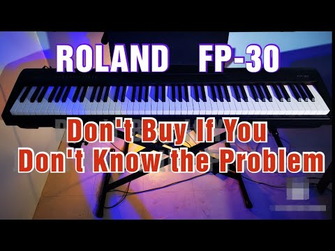 Roland Fp30 Full Review After 2 Years Of Playing Problematic Keys Youtube