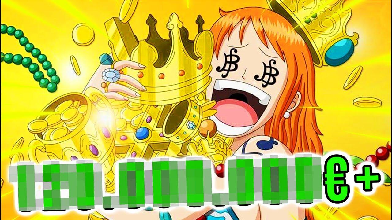 OMG! So viel GELD (€) verdient ODA mit ONE PIECE! 😱