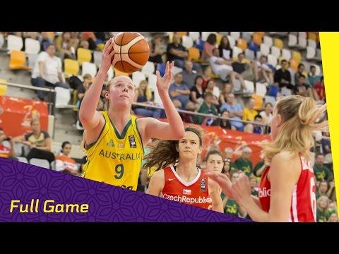 Australia v Czech Republic - Quarter Final - Full Game - FIBA U17 Women's World Championship 2016