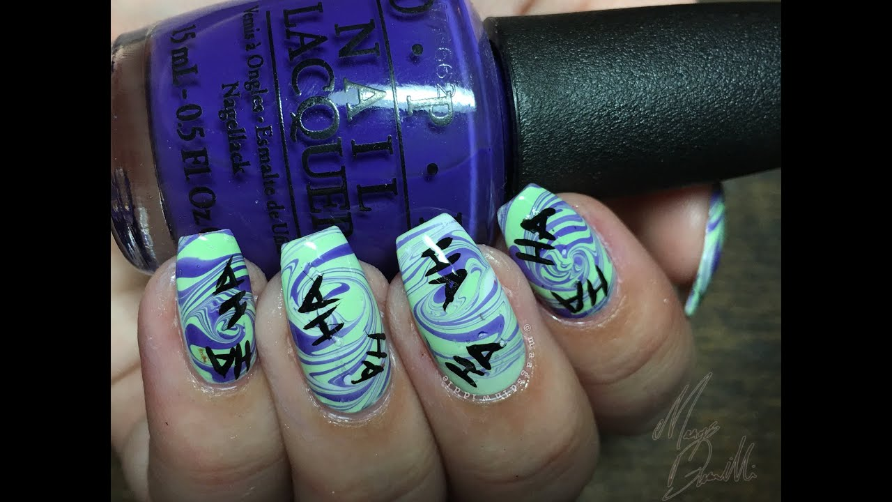 The Joker Nails | Best Nail Designs 2018
