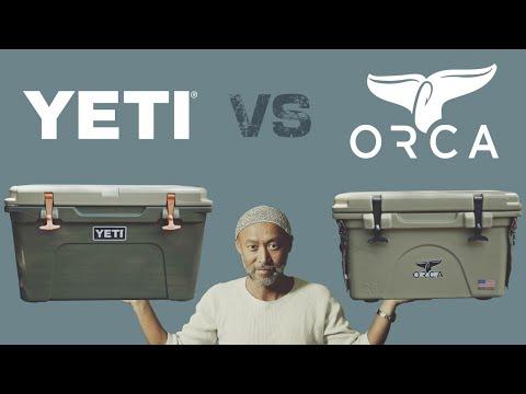 【キャンプギアレビュー】YETIとORCA、どちらが優秀?クーラーボックスの王道2製品の保冷能力を比較 [epi.2.1]