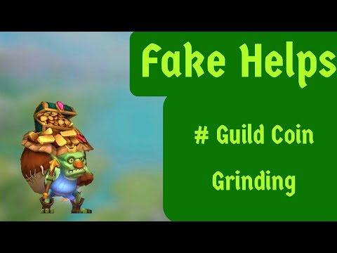 Lords Mobile Fake Helps # Guild Coin Grinding