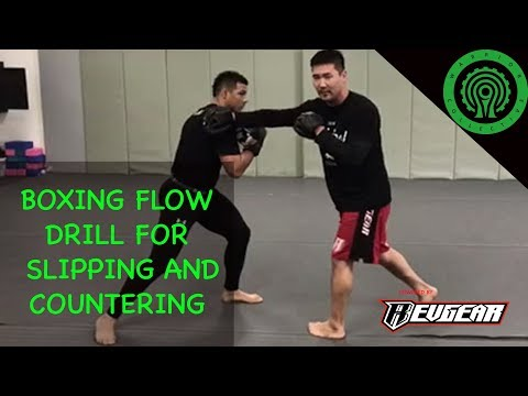 Boxing Flow Drill for Slipping and Countering Tutorial