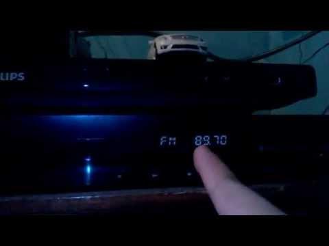 Guardar emisoras de Radio FM en Teatro en casa Sony DAV TZ140