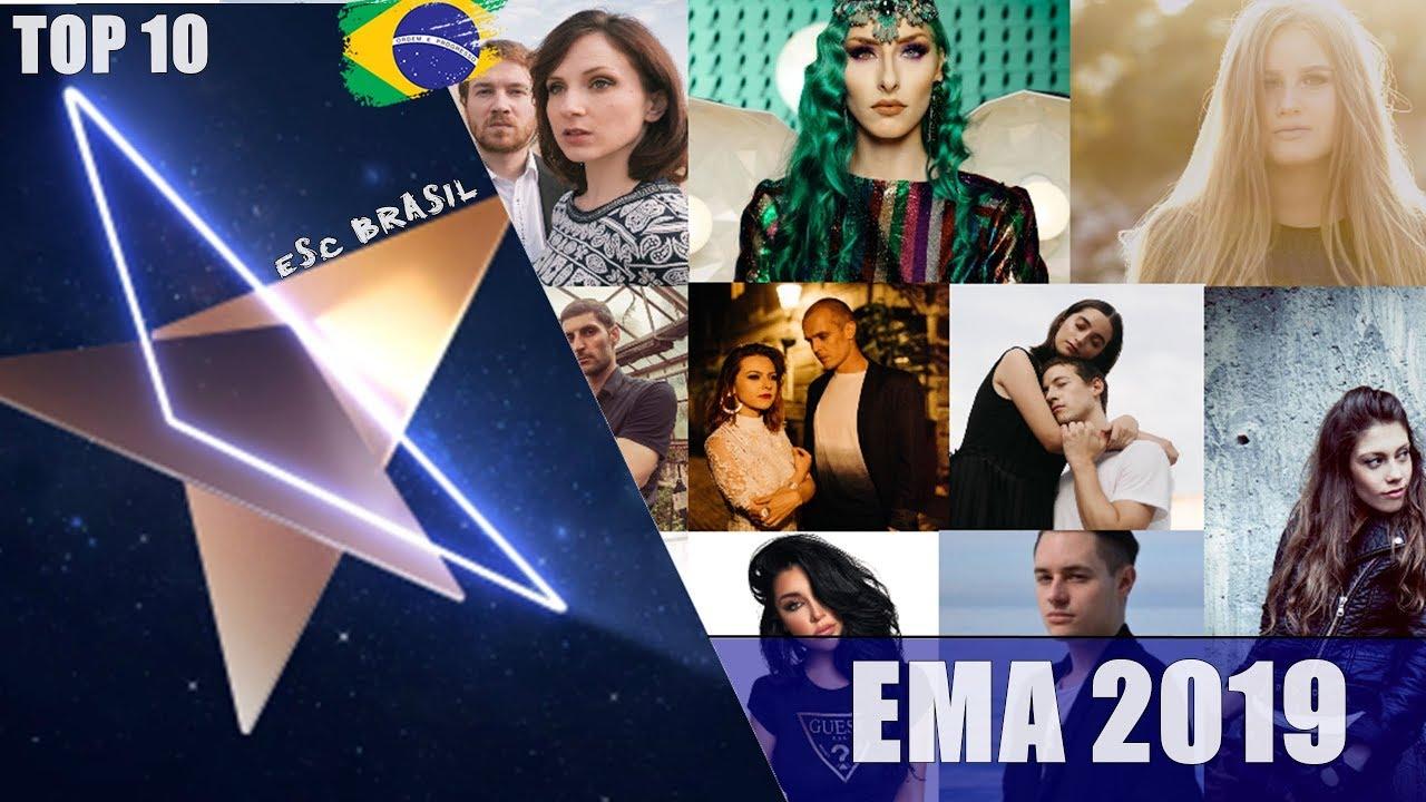 Download TOP 10   EMA (Slovenia 🇸🇮 National Final) 2019