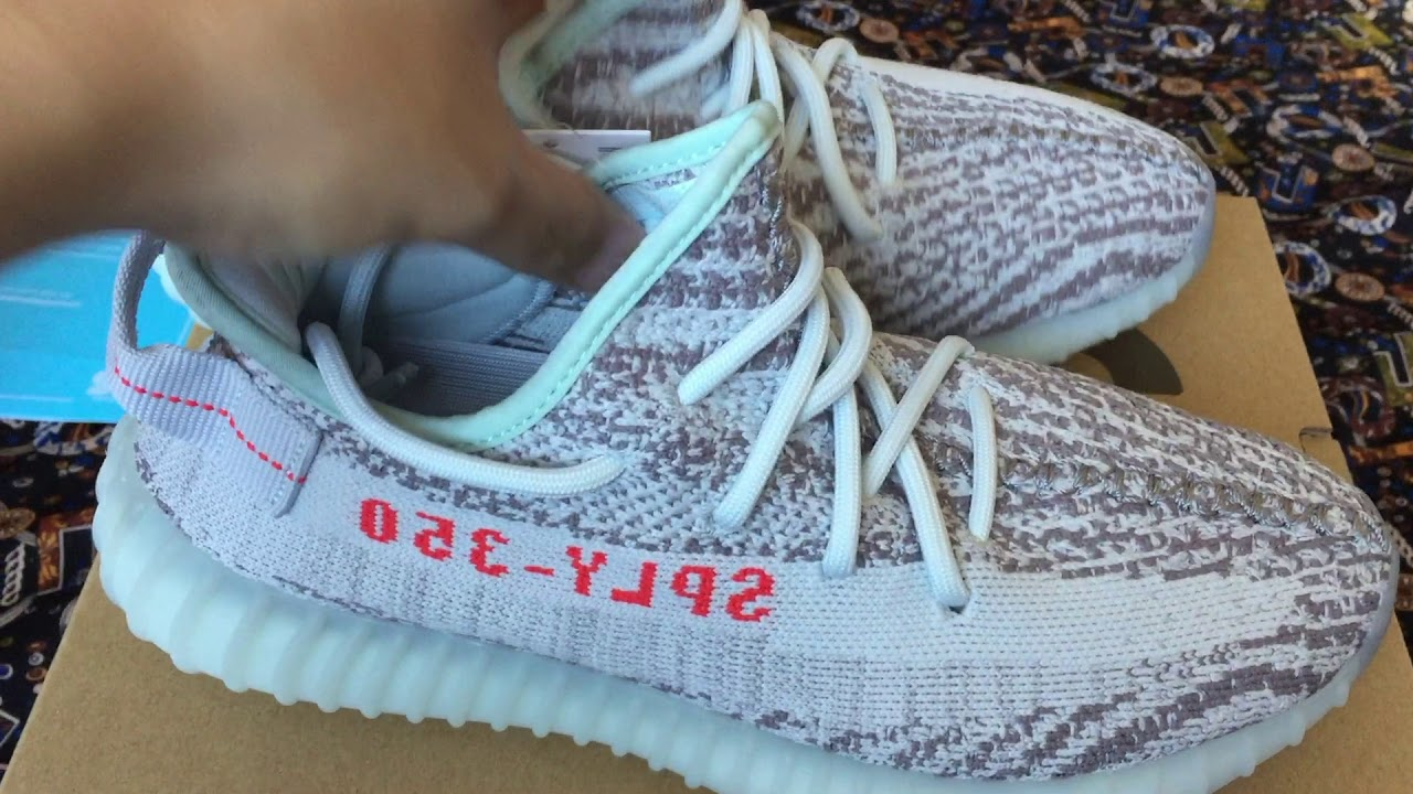 45979e52 Mở hộp & Cảm nhận: Adidas Yeezy Boost 350 v2 Blue tint 2017- Limited  edition (Not really!!!)