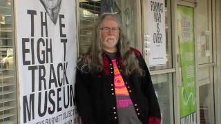 THE EIGHT TRACK MUSEUM GUIDED TOUR WITH BUCKS BURNETT