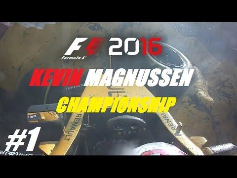 F1 2016 // KEVIN MAGNUSSEN N.É.C. CHAMPIONSHIP // #1 letöltés