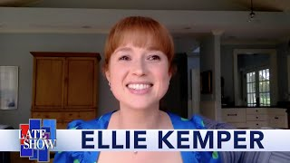 Ellie Kemper's Son Loves Geese After Watching One Attack His Mother