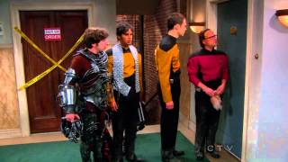 The Big Bang Theory - The Girls Arguing About Comic Books