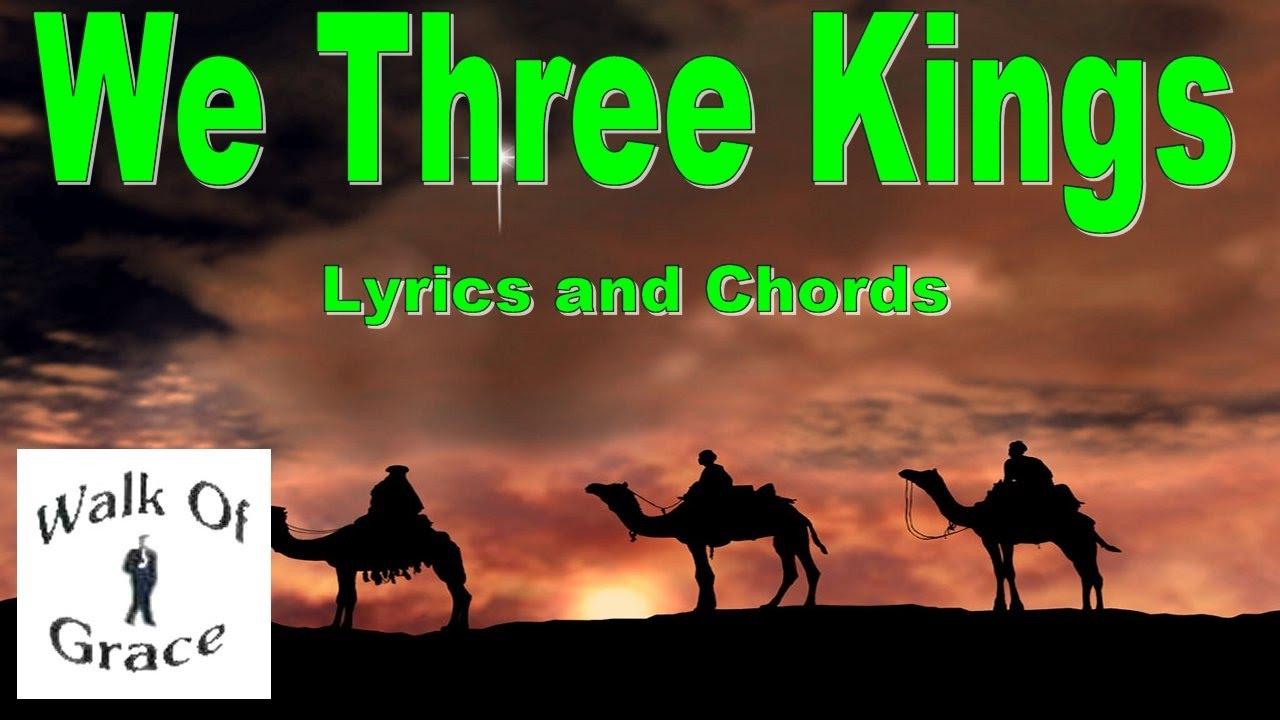 We Three Kings Lyrics and Chords | Christmas Song - YouTube