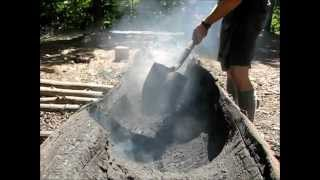 1. Crafting with Fire - The Dugout Canoe Project 1 of 2