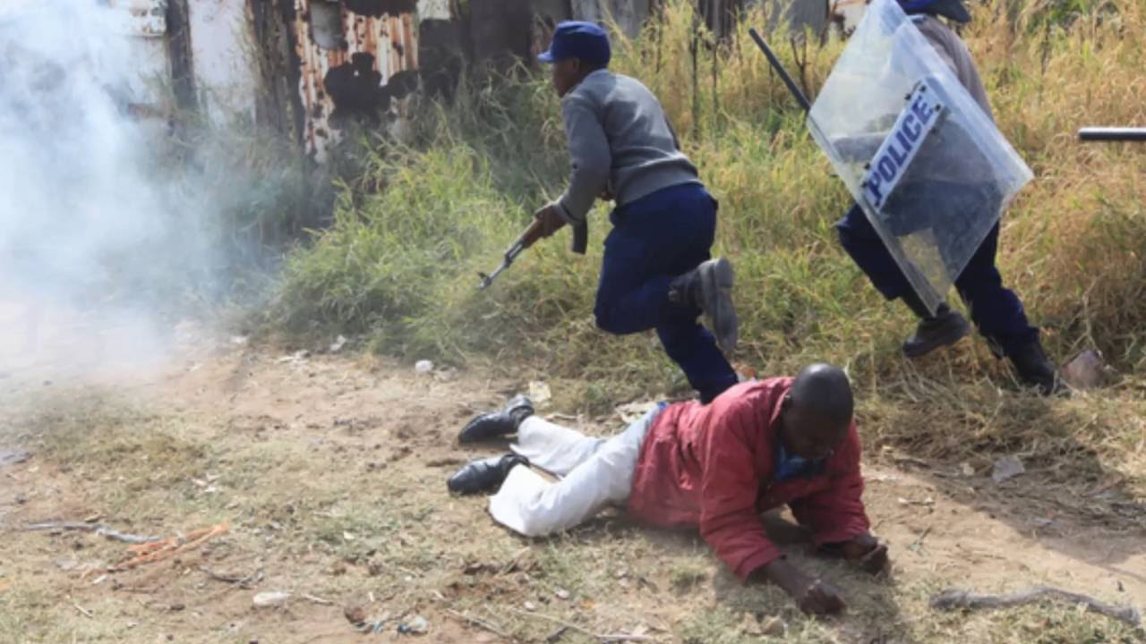 Zimbabwe - Harare - Latest Protests - Story covered by ...