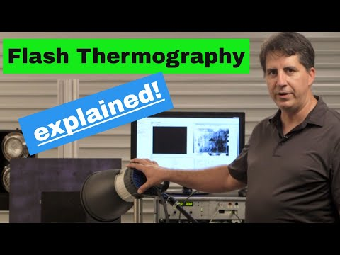 MoviTHERM Flash Thermography for Non-Destructive Testing