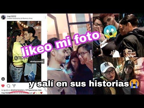 Abraham Likeo mi foto | Soy malisima vloggeando | Abraham Mateo en Argentina