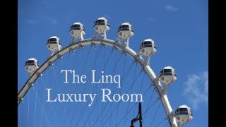 The LINQ Hotel & Casino - Las Vegas The Luxury 1 King Room features...