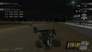 World of Outlaws: Sprint Cars 2002 PS2 Gameplay HD (PCSX2)
