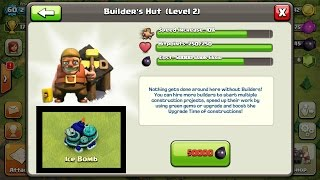 Clash of Clans - NEW UPDATE New Builder Huts Levels + Ice Bomb (Update Wishlist)