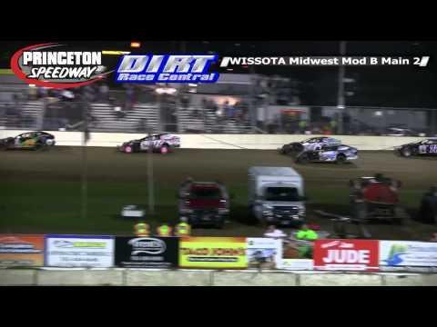 Princeton Speedway 9 19 14 WISSOTA Midwest Modified Races