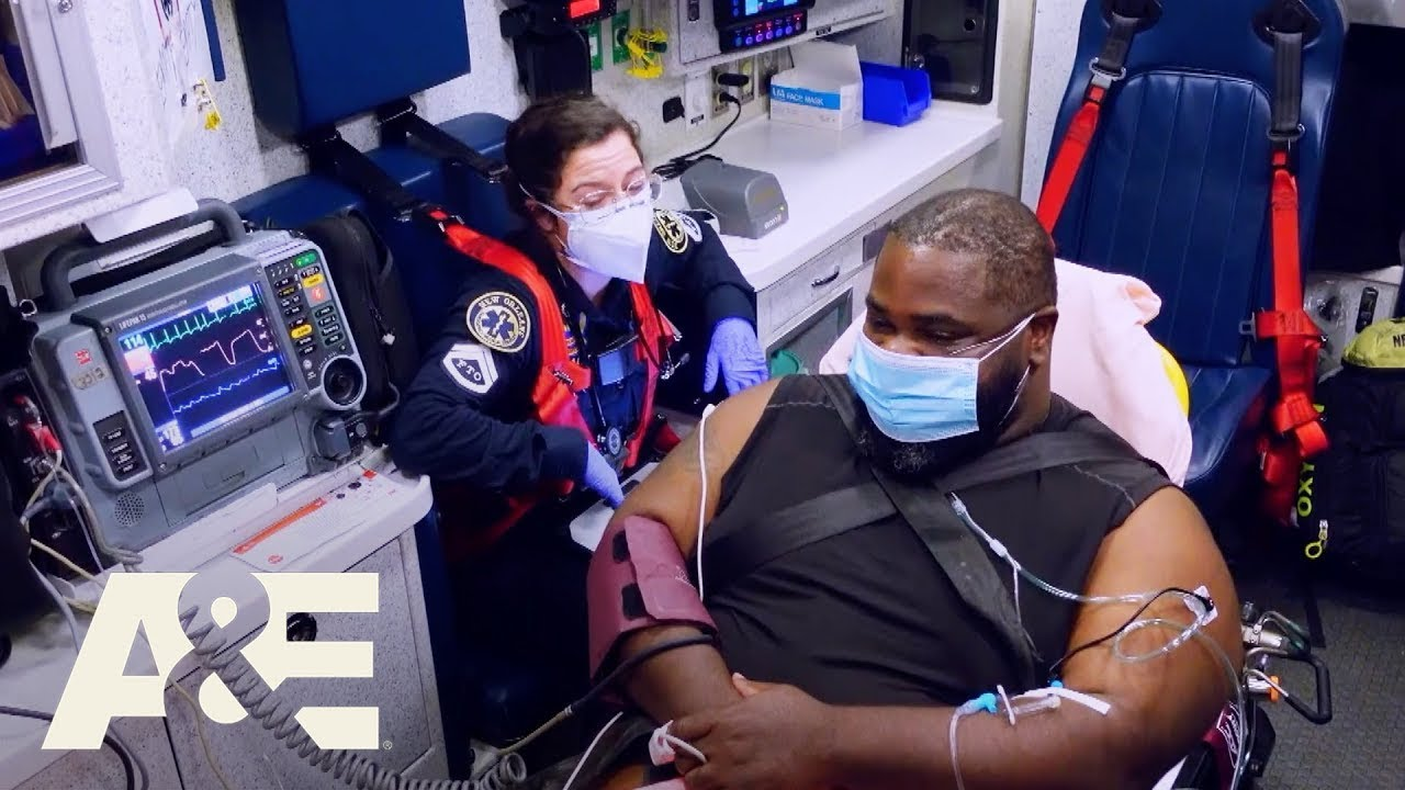 Nightwatch: EMTs Treat Patient Who Tests Positive for Covid (Season 5)   A&E