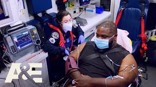 Nightwatch: EMTs Treat Patient Who Tests Positive for Covid (Season 5) | A&E