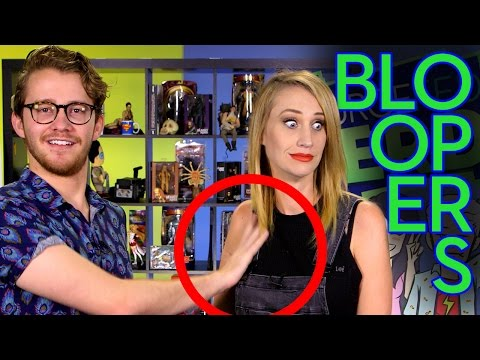 Sam Finally Makes A Move On Maude - It's Bloopers!