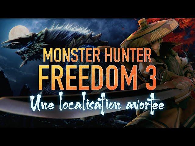 Où est passé Monster Hunter Freedom 3 ? - #4 Dossier