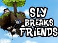 Minecraft | Sly Breaks Friends ft. ImmortalHD | Ep.2 | Getting Inside His Mind