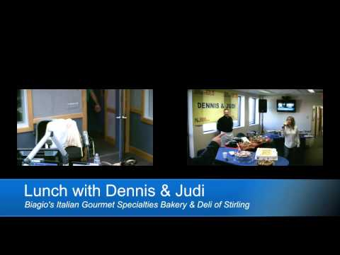 Biagio's Bakery joins Dennis and Judi for an in-studio lunch