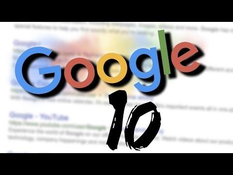 10 wyszukanych faktów na temat Google [TOPOWA DYCHA]