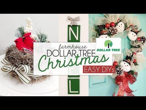 DOLLAR TREE Christmas Decor Hacks   Dollar Christmas DIY