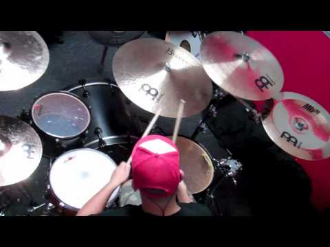 THE DEAD RABBITTS edge of reality drum cover