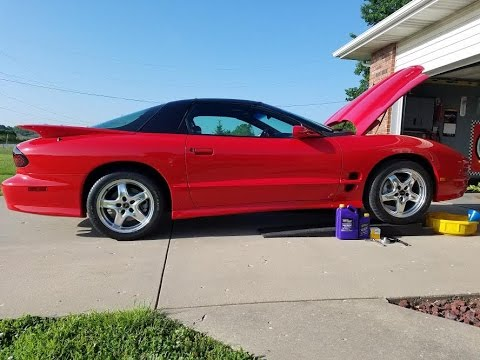 How to change oil in 98-02 LS1 F-Body